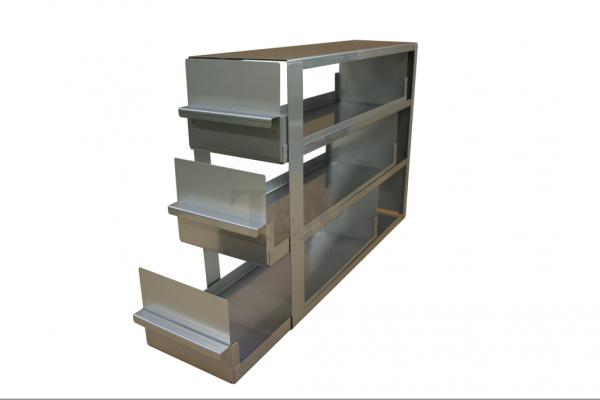 Schrankeinschub SA10033 für 3x3 Boxen (10cm, 136mm)