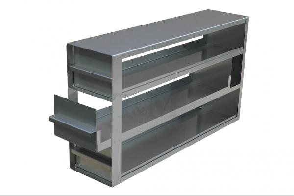 Schrankeinschub SA10043 für 3x4 Boxen (10cm, 136mm)