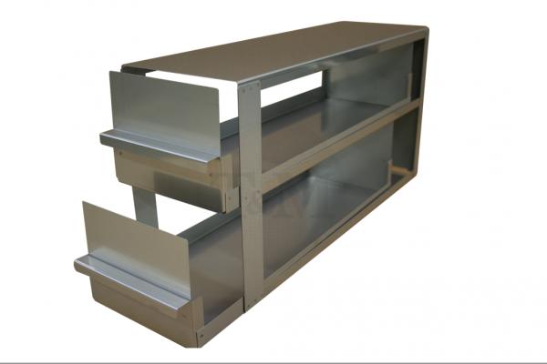 Schrankeinschub SA10032 für 2x3 Boxen (10cm, 136mm)