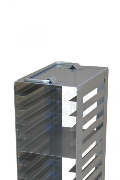 Edelstahl-Truhengestell TM1828 für 28 Mikrotiterplatten