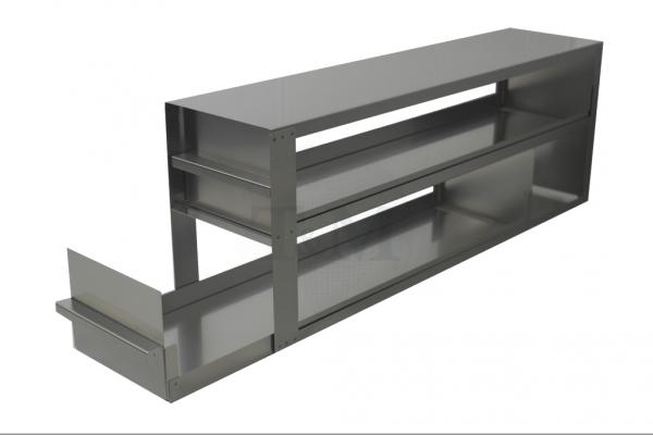 Schrankeinschub SA10042 für 2x4 Boxen (10cm, 136mm)