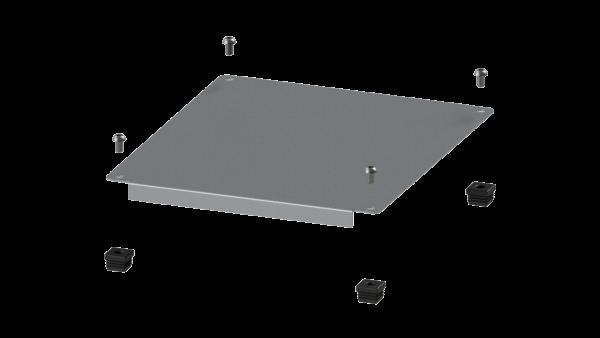 H+H FlexShelf® 300x400 mm Alu-Abdeckung, oben, Anbau