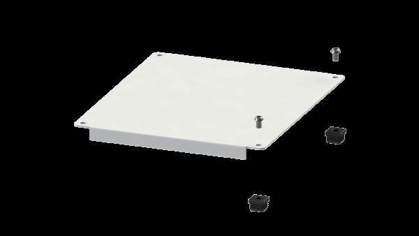 H+H FlexShelf® 300x400 mm Kunststoff-Abdeckung, oben für Anbau