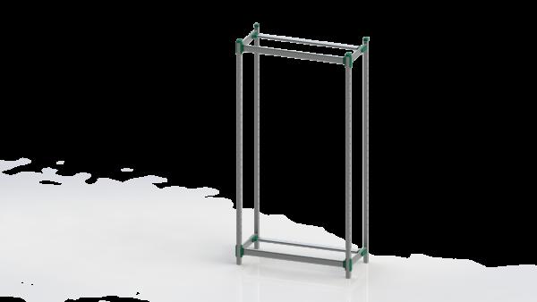 H+H FlexShelf® 900x400 mm Basisregal