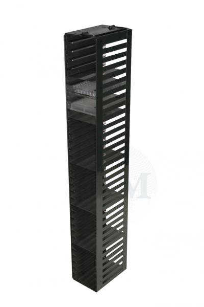 Edelstahl-Truhengestell TM1835 für 35 Mikrotiterplatten