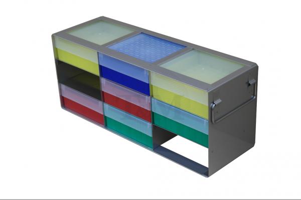 Schrankgestell GB5033 für 3x3 Boxen (5cm, 133er)