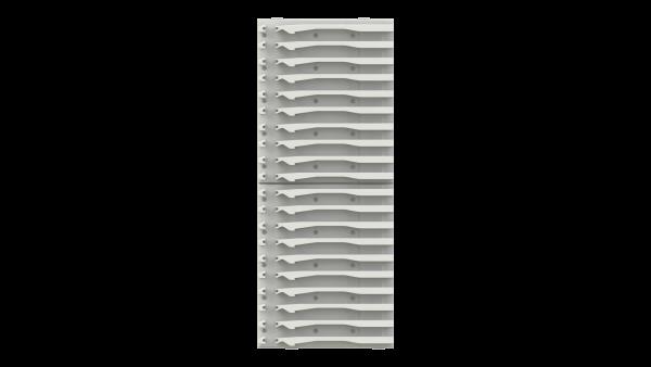 ISO Trägerwand links 300, 3 in 1