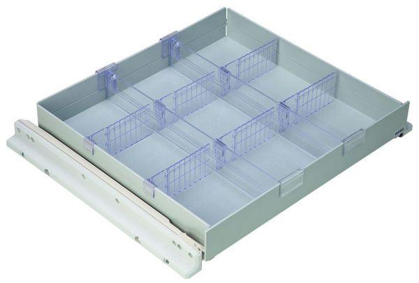 Preiswerte Kunststoff-Schublade grau., FKUv/LKUv/MKUv 1610/3910