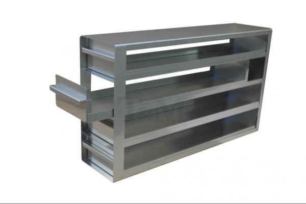 Schrankeinschub SA7544 für 4x4 Boxen (7,5cm, 136mm)